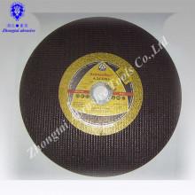 Disco abrasivo Yuri de alto rendimiento, rectificado plano, rueda de corte