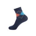 Hot-selling Men's Add Wool Thickening Comfort Cheap Winter Beautiful Socks Jacquard Thick Warm Leggings