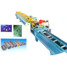 Máquina formadora de rolos de porta de veneziana de metal 60mm de aço galanizado certificado ISO