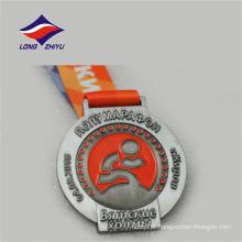 Logotipo da empresa local logotipo design agradável medalhas de prêmios de esportes metálicos