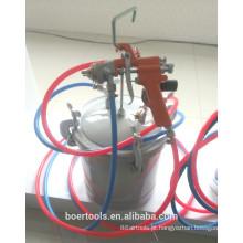 Tanque da pintura 8L / 10L com pistola de alta pressão