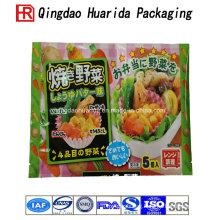 Custom Logo Colorful Plastic Food Packaging Bags