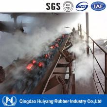Correa transportadora de goma resistente a altas temperaturas EPDM