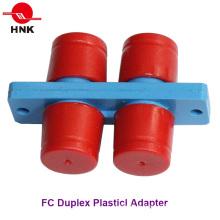 Adaptador Padrão de Fibra Óptica Duplex FC Duplex