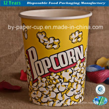 Одноразовая бочка для попкорна