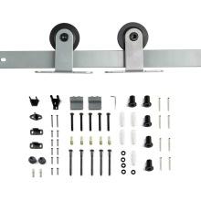 Schiebetür-Hardware-Kits mit grauer Beschichtung