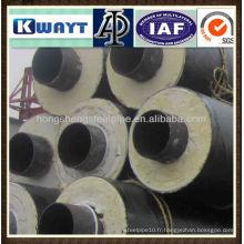 Isolation thermique tuyau en acier