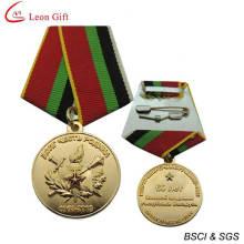 Medalla recuerdo militar 3D de logotipo personalizado (LM1263)