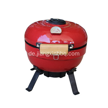 Mini Kamado Eiergrill In Rot