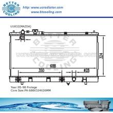 Auto Part Radiator For Mazda Protege 95-98 OEM:B6BF15200G/B6BG15200F/B6DA15200A/BPD315200H/BPD415200G/BPD415200H