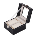 Box Watch Mewah PU Leather Watch Box Packaging