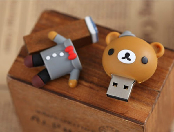 Cartoon Bear Usb Flash Drive