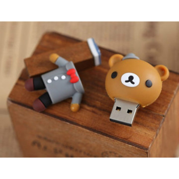 Cartoon Bär Braut Bräutigam Usb Flash Drive
