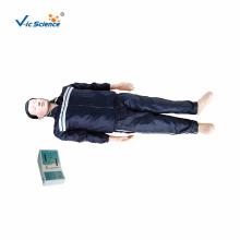 Modelo de treinamento básico estilo manequim de RCP de corpo inteiro