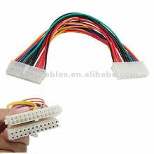 24-контактный удлинительный кабель 24-контактный разъем ATX между мужчинами и гнездом