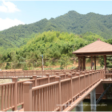 DIY Installation Landscape Commercial and Residential WPC Home Outdoor Wood Plastic Composite Guard Rail
