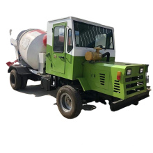 Aolai Machinery company specializes in production automatic feeding mixing truck diesel concrete mixer truck