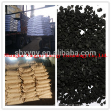 1000 Iodine number granular activated carbon for reducing the odor of the alcohol