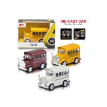 1: 36 tirón del juguete del autobús de la aleación (H1851054)