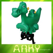 2014 New Design Kid's Outdoor dinosaur Spring Rider