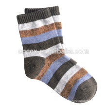 15CSK1201 полосатый кашемир детские носки