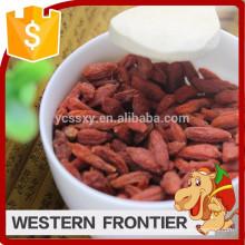 2016 Vente chaude fabricant fourniture alimentaire santé goji berry
