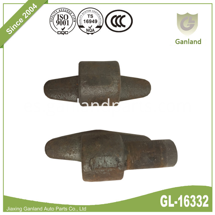 raw finish hinge GL-16332