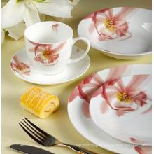 Ensemble de dîner en porcelaine de 22 pièces (LFR6437)