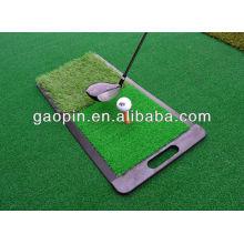 mini grass mat golf training aid