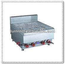 Quemador de la estufa de gas del acero inoxidable del equipo de la cocina K413