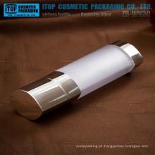 Loção estável personalizável ZB-WV30 30ml cor bomba airless garrafa especial câmara dupla