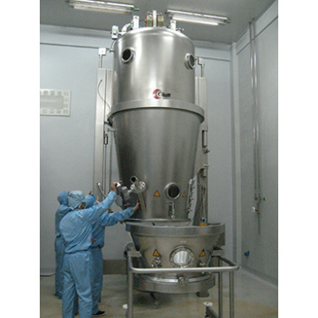 Cocoa and coffee powder Fluidized Granulator