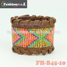 nouveaux bracelets d'enveloppe de cuir à la mode