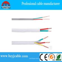 Cable flexible de la envoltura del PVC del conductor de cobre flexible de la fabricación de China