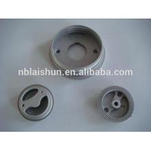 Fornecimento OEM de alumínio, zinco, precisão mg peças de fundição, dissipador de calor de alumínio