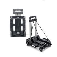 High-strength aluminum luggage trolley