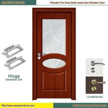 Европейские двери двери HDF двери кожи ПВХ