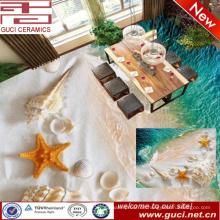 China Herstellung 3D-Druck Keramik Bodenbelag Fliesen für Wohnzimmer