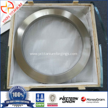 GR2 Titanium forged ring with dia600mm