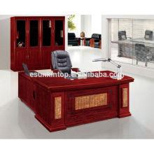 Ламинированная офисная мебель L-образный офисный стол