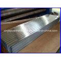 Folha de telhado de metal corrugado galvanizado