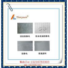 Антистатические игольчатые войлочные / нетканые пакеты для фильтров Полиэфирные фильтровальные мешки