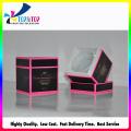 Cajón caja cosmética con ventana de PVC