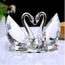 Crystal Swan as Wedding Decoration