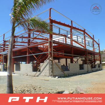 Estructura de acero de gran tamaño para el taller