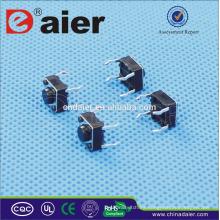 Interruptor de doble acción Daier, interruptor de tacto normalmente cerrado *