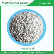 NPK 15-15-15 fertilizer from Chinese manufacturer