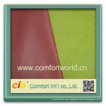 Moda nuevo diseño bastante colorido ningbo impresión láser Pp malla de poliéster tejido