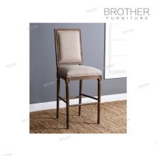 Superbe qualité plus récent nordique moderne tissu chambre mobilier bar chaise