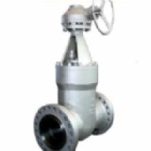 Válvula de compuerta de brida de sello de presión
